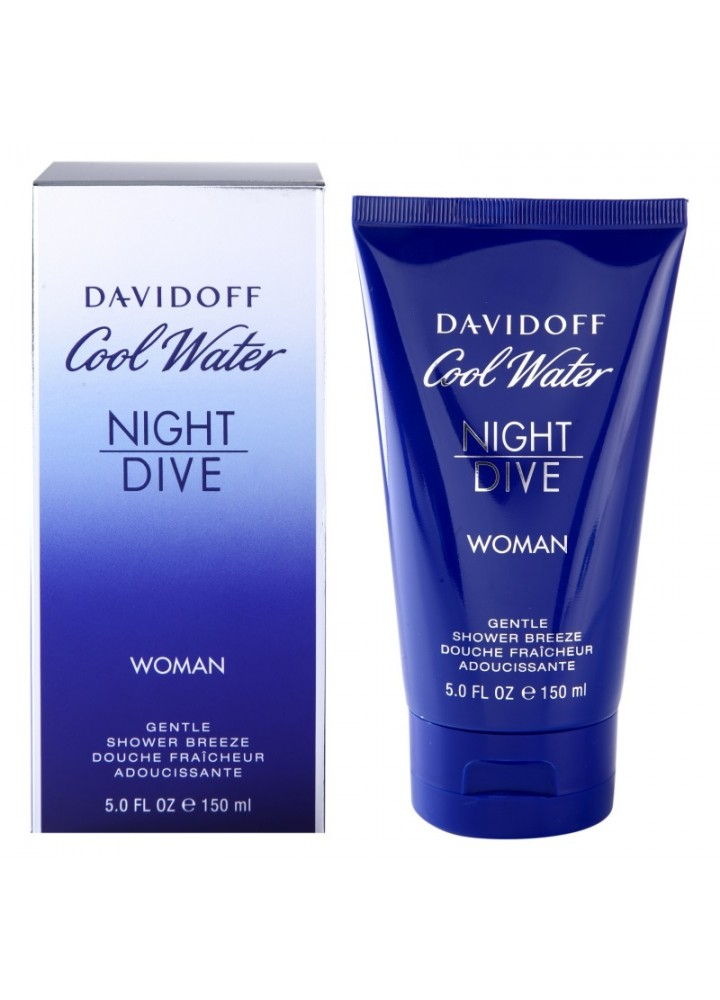 Cool Water Night Dive Дамски Shower Gel 150 ml