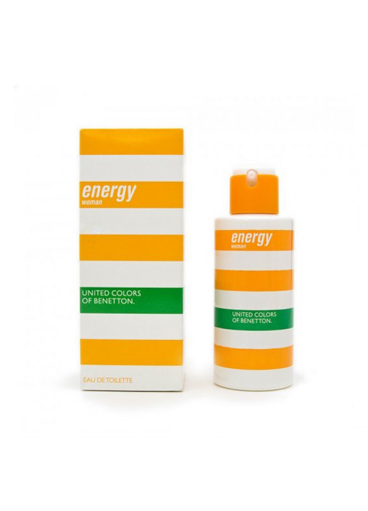 Benetton Energy Woman Дамски парфюм EDT  50 ml.